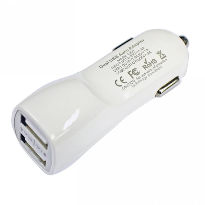 Soshine AC200 dual usb car charger 2Amps / 10W 2-port USB Car charger Designed for Apple and Android Devices