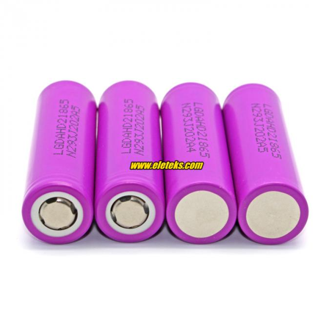 Original LG HD2 rechargeable cell 18650 2000mah LG HD2 ICR18650HD2 high power 18650 25A discharge battery cell