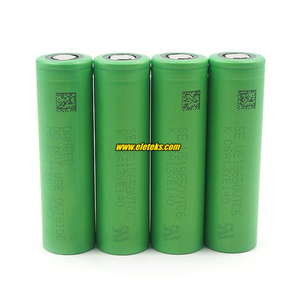 Original Sony VTC6 18650 3000mAh 3.7V Rechargeable Lithium-ion Sony US18650VTC6 30A High Amp Discharge Battery Cells