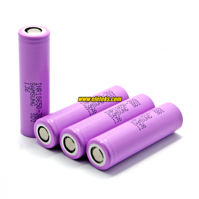 Samsung INR18650-30Q 3000mAh 3.7V 15A Discharge Li-ion Rechargeable Battery for Battery Pack, eCig Mods