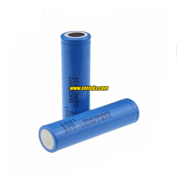 SAMSUNG ICR18650-24E 2400mAh 18650 3.7V battery cell Samsung SDI 18650 Rechargeable Samsung 18650 cheap battery cells