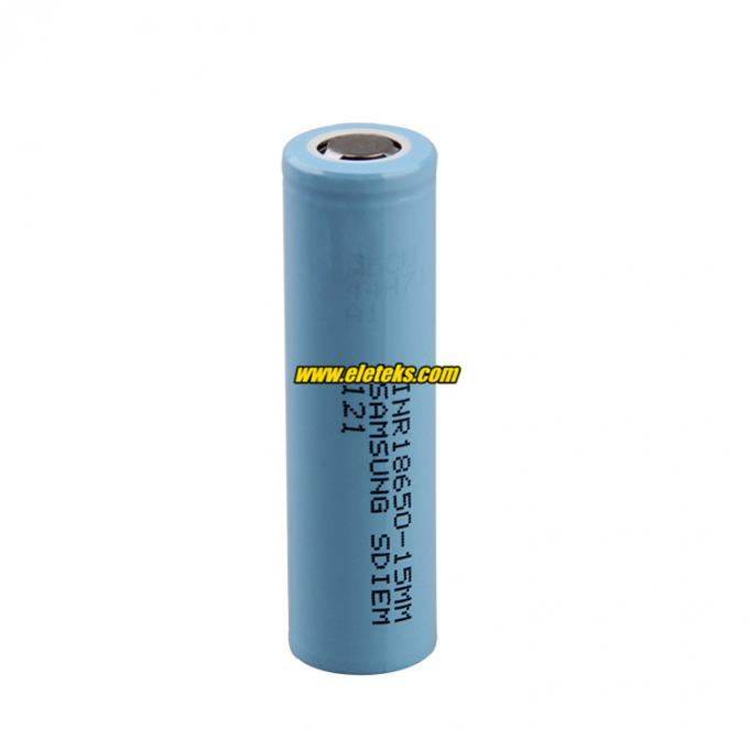 genuine original rechargeable 3.7V 18650 Samsung 15M li-ion battery cells 1500mah Samsung INR18650-15MM battery