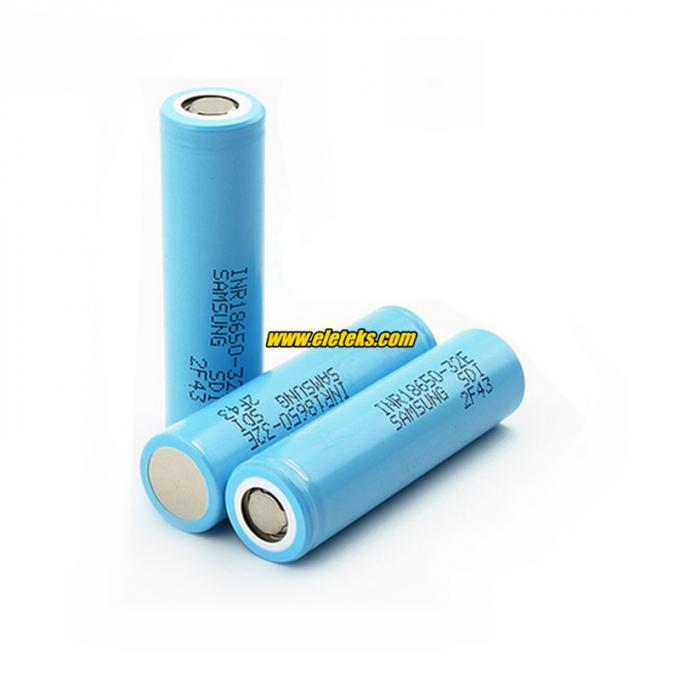 Samsung INR18650-32E 3200mAh 3.7V 10A high drain li-ion batteries high capacity cells Authentic 18650 battery from Korea