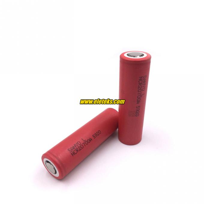 2017 new battery Wholesale Sanyo NCR20700A 3100mAh 3.7V battery Sanyo 20700 rechargeable battery 30A high amp discharge
