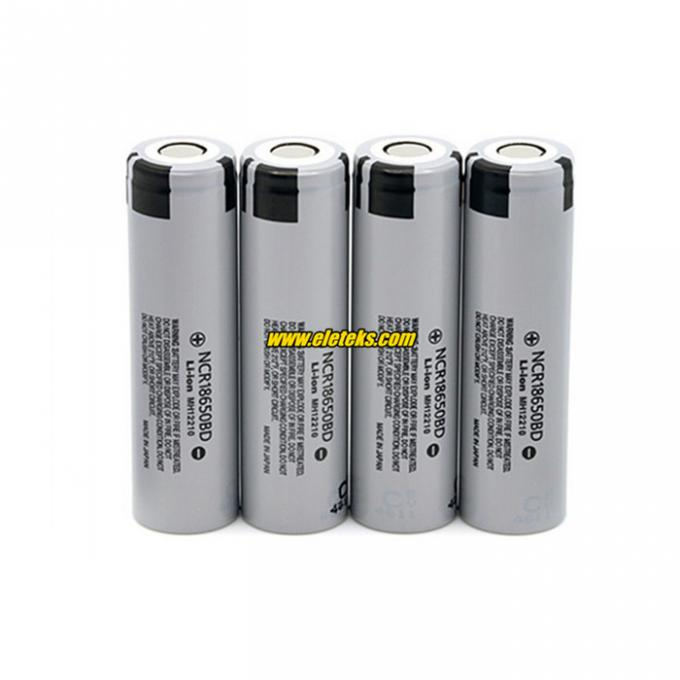 Panasonic NCR18650BD 3200mAh lithium-ion battery 3.7V 18650 10A discharge high drain batteries Rechargeable ACCUMULATOR
