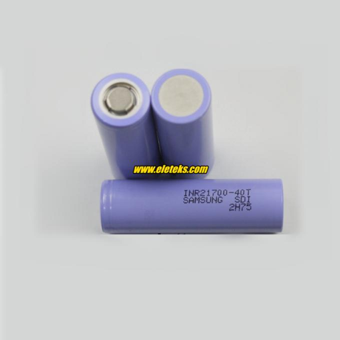 Samsung INR21700-40T 4000mAh 35A Samsung 21700 40T battery cell 3.7V wholesale