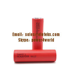 China 2017 new Authentic Sanyo NCR20700B 3.6V Cylinder li-ion battery 20700 4250mah high drain battery supplier