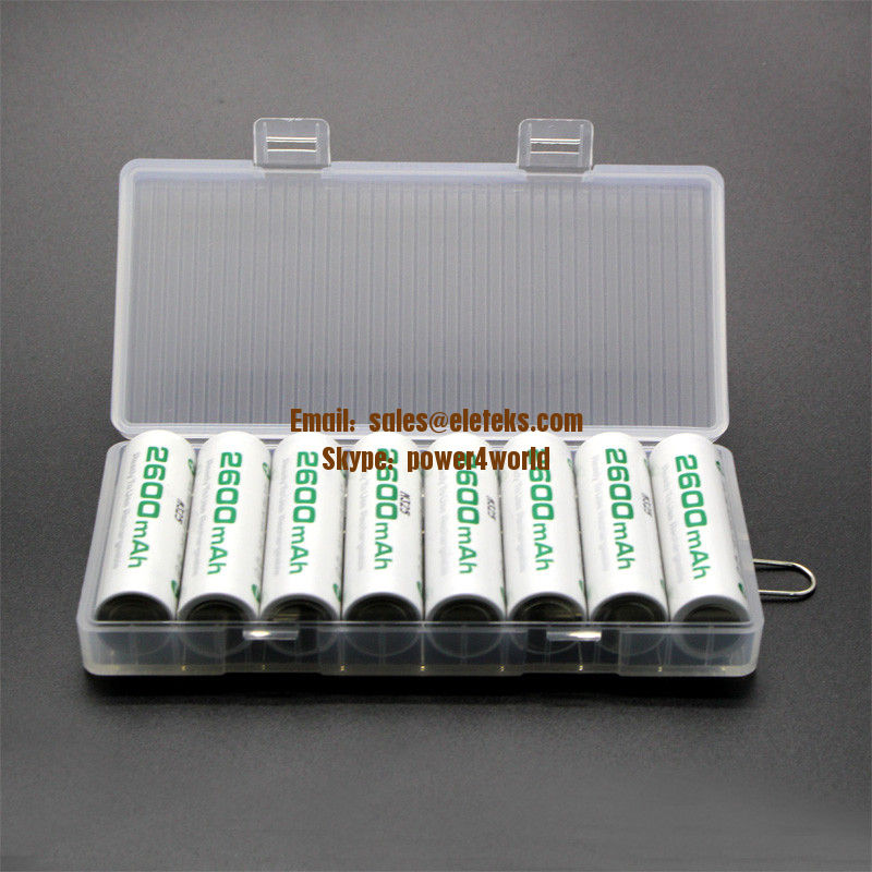 Always Ready 1.2V Ni-MH AA/Mignon 2600mAh batteries, 8pcs in one package