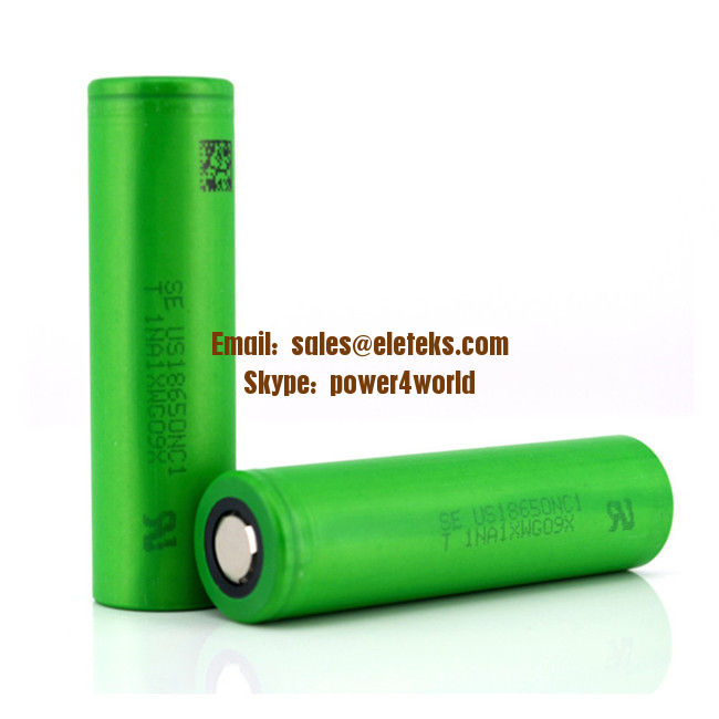 Sony US18650NC1 2900mAh original 3.7V NC1 18650 2900mAh rechargeable batteries high capacity original Sony brand cells