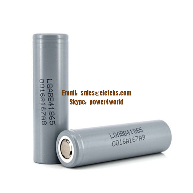 LG ICR18650-B4 2600mah li ion battery 3.7V LG AB B4 2600MAH rechargeable battery cell fat top 18650 lg battery