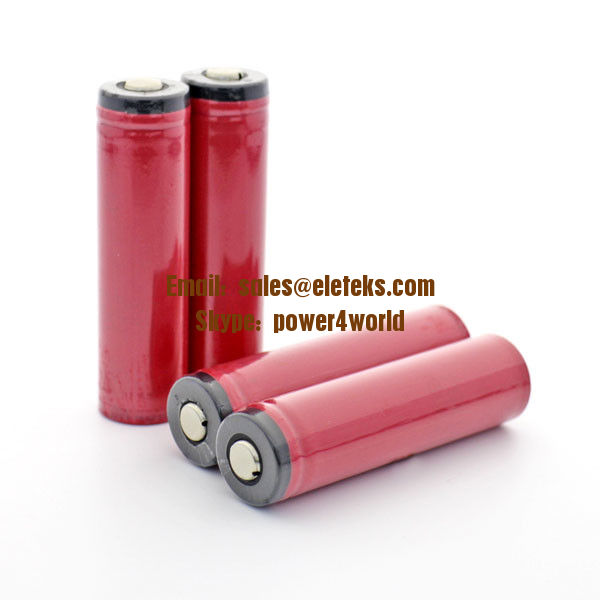 Sanyo UR18650ZY 2600mAh 18650 3.7V Battery with Protected button top, best for flashlight torches