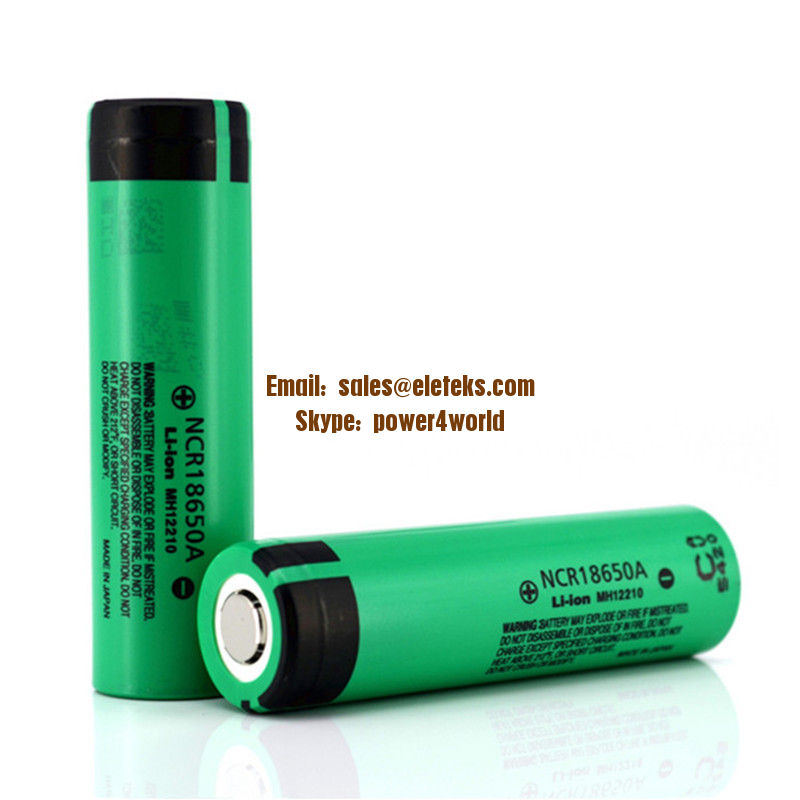 Authentic made in Japan Panasonic NCR18650A 3100mAh 3.6V 18650A li ion rechargeable batteries, perfect for battery packs