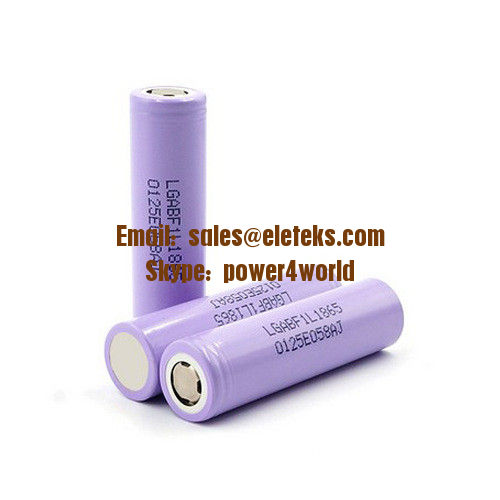 LG F1L 18650 3400mAh Rechargeable Li-ion Battery LG F1L Battery 18650 3.7V 3350mAh 10A LG F1L18650 IMR Vape Battery Cell