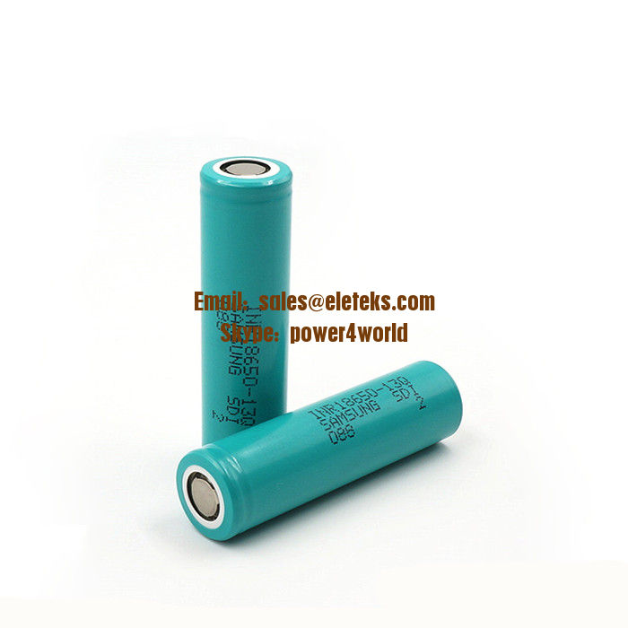 100% Original Samsung INR18650-13Q 1300mAh 3.7V 18650 13Q li-ion rechargeable battery for e cig vape mod