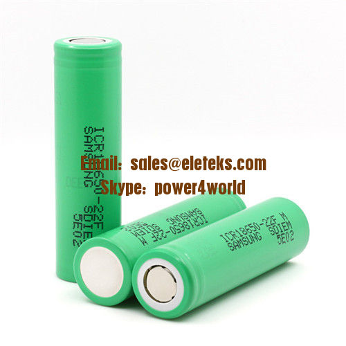 Wholesale Samsung ICR18650-22FM 2200mah battery Samsung 18650 22F 3.7V ICR 18650 li-ion rechargeable battery for vape