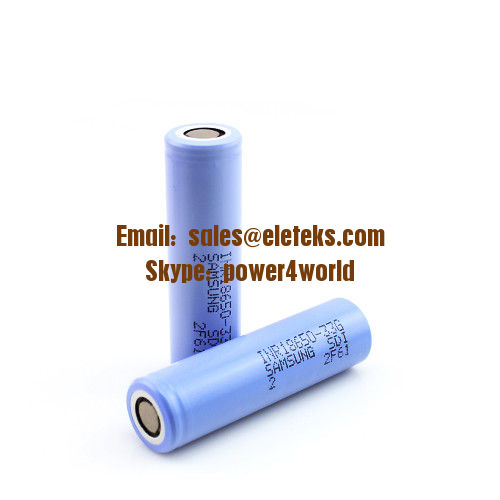 Samsung INR18650-33G battery 18650 3300mAh 3.7V Rechargeable Flat Top Batteries 7A Continuous 18650 High Capacity Cells