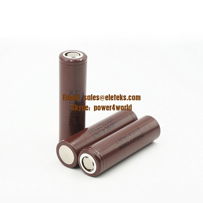 Original LG C4 18650 2800mAh battery Li-ion Battery LGDBC41865 rechargeable 3.7V battery for E-cig Vaporizer batteries