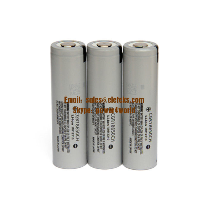 Panasonic CGR18650CH 3.6V Li-ion Battery 18650CH 2250mAh 10A discharge 18650 high power rechargealbe Japan battery cells