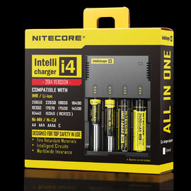 NITECORE i4 4 channels multi-functional Intellicharger Li-ion/Ni-MH/Ni-Cd Universal Battery Charger